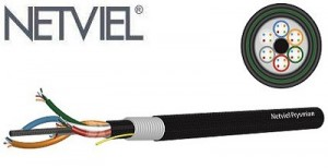 kabel fiber optic netviel