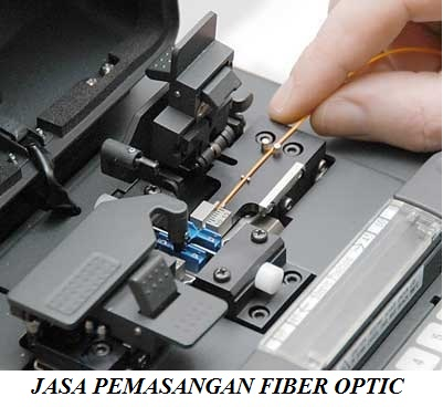 jasa pemasangan fiber optic